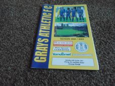 Grays Athletic v Stevenage Borough, 2002/03 [FA]